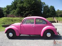 volkswagen beetle classic for sale classic 1973 vw beetle 1303 pink excellent condition