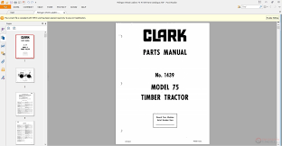 michigan wheel loaders 75 1439 parts catalogue auto repair