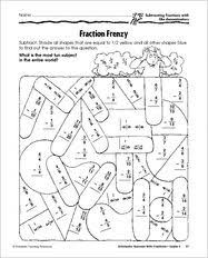 48 best 5th grade math adding and subtracting fractions images