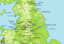 Where Is England On The Map by Yorkshire Wolds Way Gif