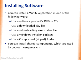 Win32 Cabinet Self Extractor Tutorial 11 Installing Updating And Configuring Software Ppt