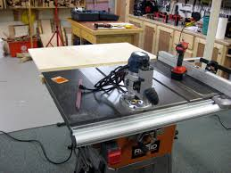 Ridgid Table Saw Review Outfeed Table For Ridgid R4512 Table Saw