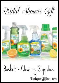 Bridal Shower Gift Basket Ideas Bridal Shower Gift Basket Cleaning Supplies Unique Gifter