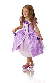 sofia the dress sofia the royal curtsy dress purple fits sizes 4