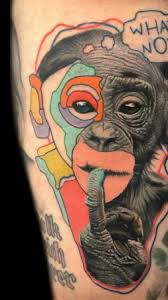 best monkey tattoo ideas
