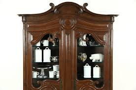Black China Cabinet Hutch by Curio Cabinet Antique English China Cabinet Curio And Hutch