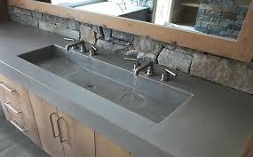 Custom Bathroom Vanity Tops Concrete Vanity Top Custom Concrete Bathroom Sinks Concrete Custom