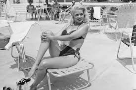 jane mansfield a tribute to jayne mansfield a blonde stunner who was smarter