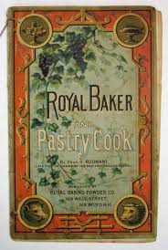prof de cuisine royal baker and pastry cook promotional cookery book iuseppi