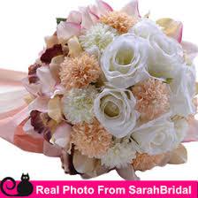 Bridesmaids Bouquets Discount Bridesmaids Bouquets Champagne 2017 Bridesmaids