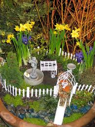 Mini Fairy Garden Ideas by Miniature Dish Garden Plants Home Outdoor Decoration