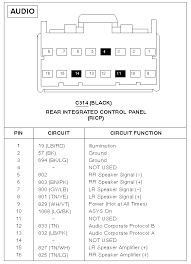 2004 ford radio wiring diagram 2004 wiring diagrams collection