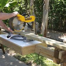 Free Woodworking Plans Laptop Desk by Portable Miter Saw Stand Free Woodworking Plans