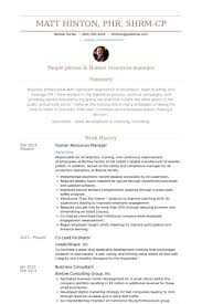 Sample Resume For Hr by Human Resources Manager Resume Samples Visualcv Resume Samples