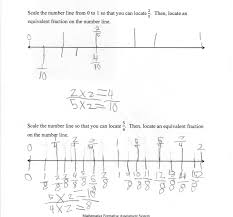 3rd Grade Fractions Worksheets Equivalent Fractions On A Number Line Students Scale Number Lines