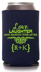 wedding koozie quotes totally wedding koozie wedding anniversary design can koozies