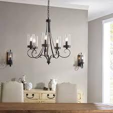 Kichler Lighting Company Kichler 6 Light Chandelier Lighting Covington 6 Light Olde Bronze
