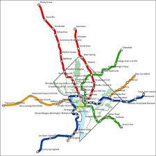 washington subway map dc mythbusting metro map to scale we dc