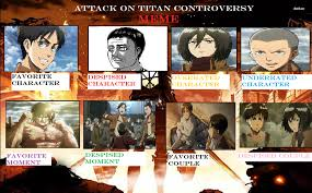 Attack On Titan Memes - attack on titan controversy meme by jojodragone on deviantart