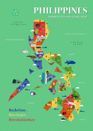 Map Of Phillipines Philippines Attraction Map Map Of Philippines Attraction South