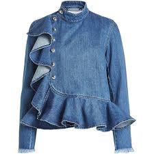 denim blouses 2989 best denim images on fashion clothing