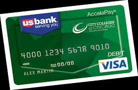 bank prepaid cards city colleges of chicago us bank accelapay card