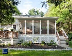screen porch designs exterior traditional with stone window boxes