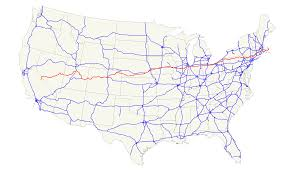 Map Of Usa And Cities by Map United States Interstate Boaytk Map United States Travelmap