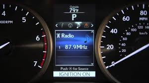 lexus nx digital speedometer nx multi information display youtube