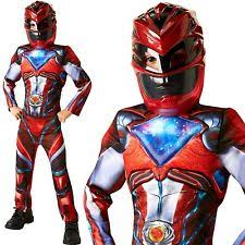 rubie u0027s power rangers fancy dress for boys ebay