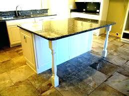 kitchen islands with legs kitchen island legs hambredepremios co