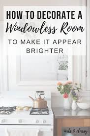 room ideas how to decorate a room without windows arts and classy
