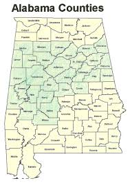 Map Of Alabama Counties Home The Alabama Section Of The American Chemical Society