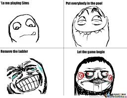 Sims Hehehehe Meme - let the game begin by chuckydied meme center