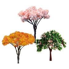 aliexpress buy 3pcs mini tree miniature dolls house garden