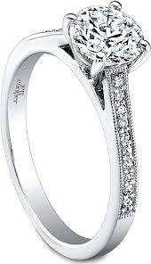 milgrain engagement ring jeff cooper milgrain engagement ring rp1602rd