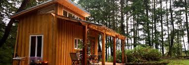 yoga teacher builds a meditative 168 square foot tiny house