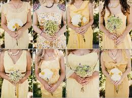 Bridesmaids Bouquets Wedding Flower Trends Mismatched Bridesmaid Bouquets
