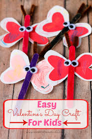easy valentine u0027s day craft for kids sarah in the suburbs