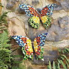garden butterfly outdoor fence decor ideas garden decoration ideas