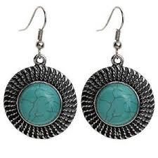 turquoise earrings vintage turquoise earrings ebay