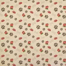 wrap wrapping paper dog print kraft present gift wrap wrapping paper ebay