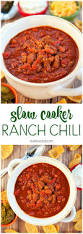 slow cooker ranch chili plain chicken