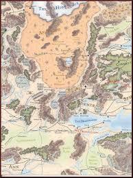 World Deserts Map by Anauroch Desert Fantasy Characters Maps Pinterest Deserts
