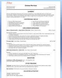 Targeted Resume Examples by Sample Combination Resume Administrative Assistant Administrative