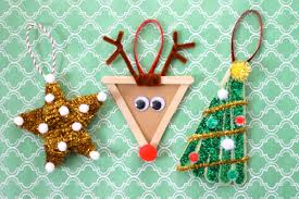 Christmas Decorations Made At Home by Christmas Decorations For Kids To Make At Home