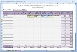 construction work schedule templates free download a sample