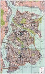 Haddonfield Illinois Map by Hand Drawn Fictional City Maps Archive Skyscraperpage Forum