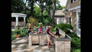backyard bbq area design ideas youtube