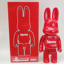 theme google chrome rabbit 28cm 400 be rbrick supreme chrome orange rabbit creative decoration